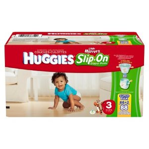 Huggies® Little Movers Slip-On Diaper Pant Super Pack (Select Size) : Target