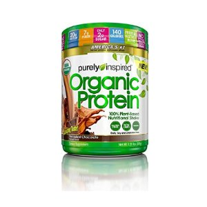 Purely Inspired Organic Protein Shake, 100% Plant Based Protein, Decadent Chocolate Flavor