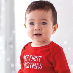 Up to 60% Off + Extra 20% Off $50 Baby and Kid's Holiday Apparel Sale @ Carter's