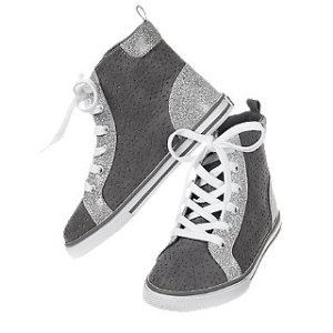 Glitter High-Top Sneakers at Crazy 8