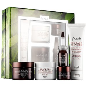 Black Tea Skincare: Firming Favorites Set - Fresh | Sephora