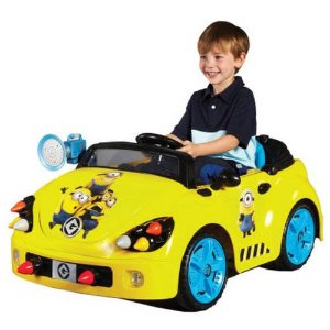 Minions 6-Volt Rocket Car Electric Battery-Powered Ride-On - Walmart.com