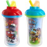 Munchkin Paw Patrol Click Lock 9oz Insulated Straw Cup, BPA-Free, 2-Pack