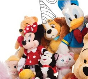 Buy One Get One for $5 Plush Party @ disneystore