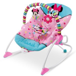 Disney Baby Minnie Mouse Peekaboo Infant To Toddler Rocker - Walmart.com