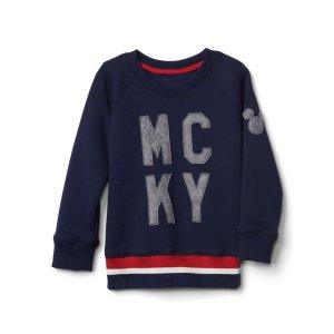 babyGap | Disney Baby Mickey Mouse crew sweatshirt | Gap