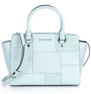 $208.80(reg.$348) MMK Selma Medium Tile Patchwork Satchel Bag @ Neiman Marcus