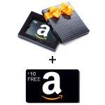 Amazon 购买礼卡1月满$50送$10活动