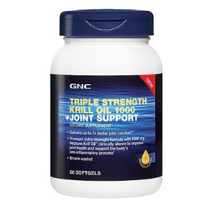 GNC Triple Strength Krill Oil 1000 + Joint Support