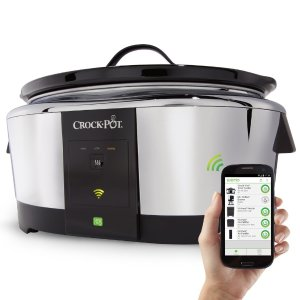 Crock-Pot Smart Wifi-Enabled WeMo 6-Quart Slow Cooker