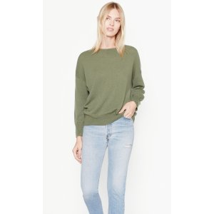 Women's MELANIE CASHMERE SWEATER made of Cashmere | Women's New Arrivals by Equipment