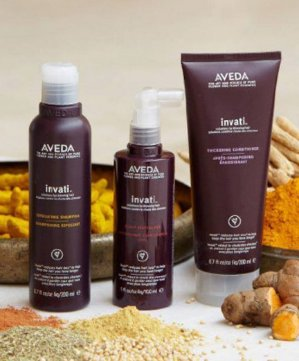 Free Travel-size Revitalizerwith Any Invati Purchase of $40 @ Aveda