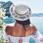 $225 Eugenia Kim 'Brigitte - A Rose is a Rose is a Rose' Hemp & Cotton Boater Hat