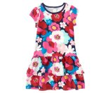 Girls Bright Blooms Ruffle Dress by Gymboree