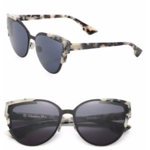 Dior 60mm Wild Dior Cateye Sunglasses