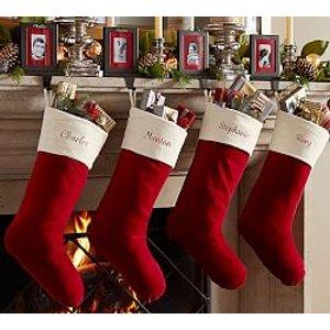 Holiday Stockings & Tree Skirts   Pottery Barn