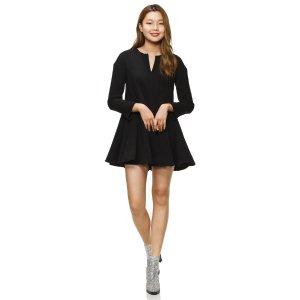 [Luckychouette] Flare mini dress