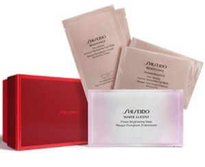 $38 Shiseido Triple Task Mask Set