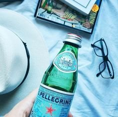 $5.85 San Pellegrino Sparkling Natural Mineral Water, 16.9-ounce plastic bottles (Pack of 12)