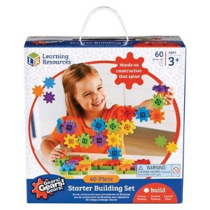 Learning Resources Gears Starter Set - 60 Pc