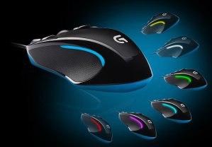 Logitech G300s Optical Gaming Mouse (Black) Refurbished