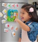 $14.99(原价$19.99) 史低价!!LeapFrog 数字和食物早教冰箱贴