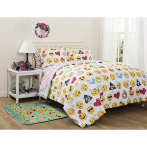 From $34.99 Emoji Pals Bed in a Bag Bedding Set