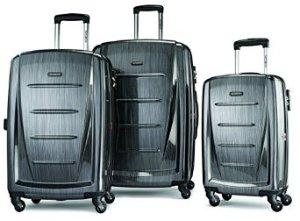 $255.33 Samsonite Luggage Winfield 2 Fashion HS 3 Piece Set