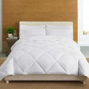 Cuddl Duds 400-Thread Count Level 2 Down-Alternative Comforter