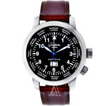 Glashutte Men's Senator Navigator Worldview Watch, 39-47-07-07-04