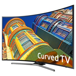 Samsung 55 Inch Curved 4K Ultra HD Smart TV+$175 Dell eGift Card