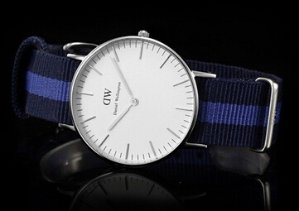 $63.10 Daniel Wellington Women's Swansea Silver Watch 0603DW