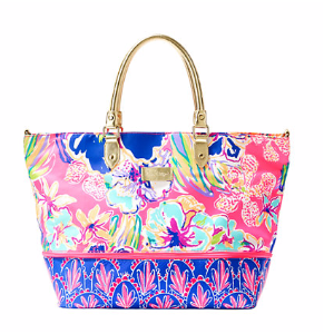 Expandable Weekender Travel Tote - Tipping Point | 24016660RK4 | Lilly Pulitzer