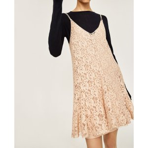 SHORT LACE DRESS - COLLECTION-SALE-WOMAN | ZARA United States