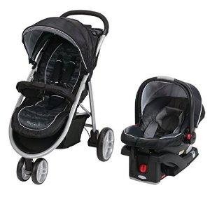 $183.59Graco Aire3 婴儿推车+婴儿汽车提篮套装-黑色