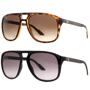 Gucci GG 1018/S Men's Gradient Aviator Sunglasses