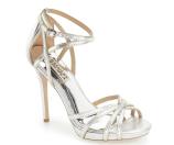 Badgley Mischka 'Leon II' Metallic Ankle Strap Sandal (Women) | Nordstrom