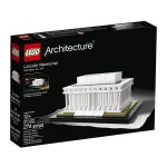 LEGO Architecture Lincoln Memorial Model Kit 21022