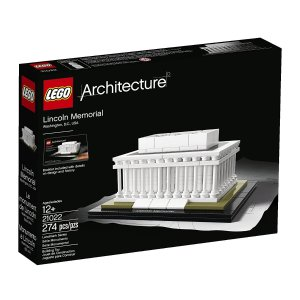 $22.9 LEGO Architecture Lincoln Memorial Model Kit 21022