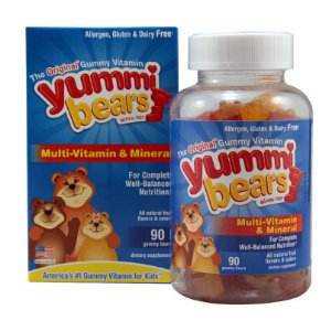 Hero Nutritionals Yummi Bears Multi-Vitamin and Mineral Fruit -- 90 Gummies