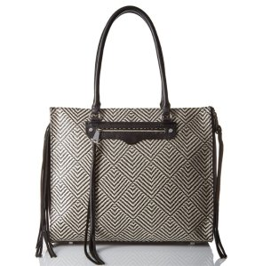 Rebecca Minkoff Side Zip Regan Tote Shoulder Bag