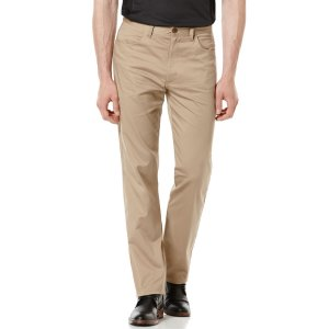 Regular Fit Sateen Twill Pant