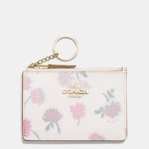 MINI id skinny in daisy field print coated canvas by Coach | Spring - Free Shipping. On Everything