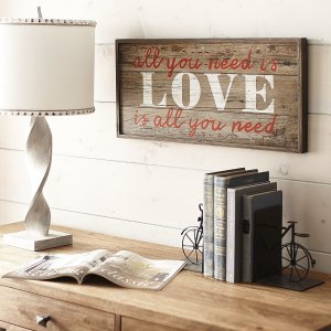 All You Need is Love Wall Decor | Pier 1 Imports