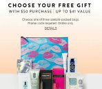 Choose one of three sample-packed bagsWith Your $50 Beauty & Fragrance Purchase @ Nordstrom