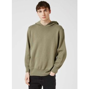 Khaki Knitted Oversized Hoodie - New This Week - New In - TOPMAN USA