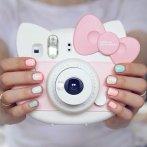 $67 Fujifilm Instax Hello Kitty Instant Film Camera (Pink) - International Version