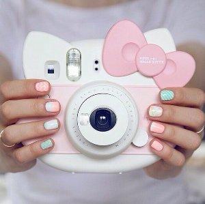 $71.99 Fujifilm Instax Hello Kitty Instant Film Camera (Pink) - International Version