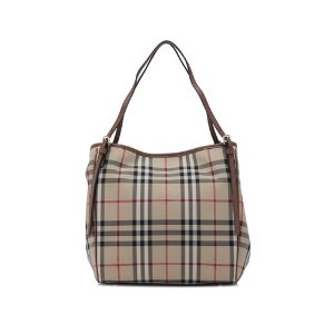 Burberry Horseferry Check Small Canterbury Tote