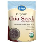 Viva Labs The Finest Organic Raw Chia Seeds, 1 Pound